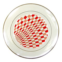 Graphics Pattern Design Abstract Porcelain Plates