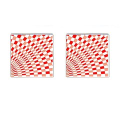 Graphics Pattern Design Abstract Cufflinks (square)