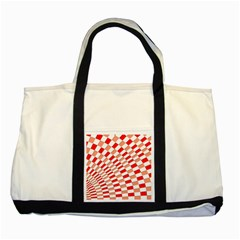 Graphics Pattern Design Abstract Two Tone Tote Bag