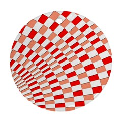 Graphics Pattern Design Abstract Round Ornament (two Sides)