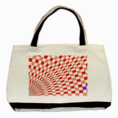Graphics Pattern Design Abstract Basic Tote Bag (two Sides)