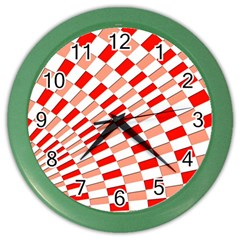 Graphics Pattern Design Abstract Color Wall Clocks