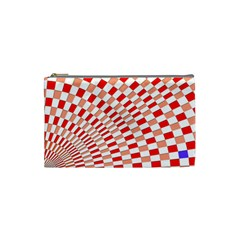 Graphics Pattern Design Abstract Cosmetic Bag (small)