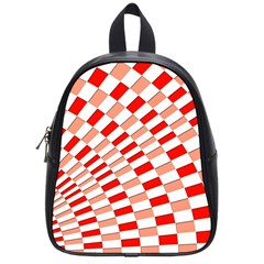 Graphics Pattern Design Abstract School Bags (small)