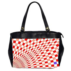 Graphics Pattern Design Abstract Office Handbags (2 Sides)