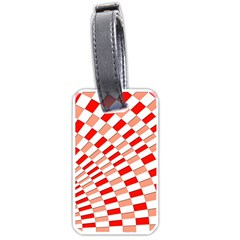 Graphics Pattern Design Abstract Luggage Tags (one Side)