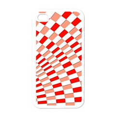 Graphics Pattern Design Abstract Apple Iphone 4 Case (white)