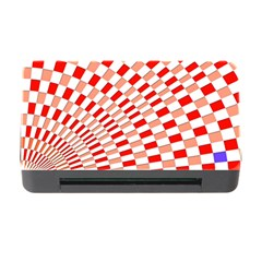 Graphics Pattern Design Abstract Memory Card Reader with CF