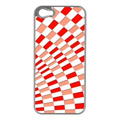 Graphics Pattern Design Abstract Apple Iphone 5 Case (silver)