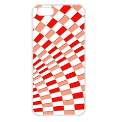 Graphics Pattern Design Abstract Apple Iphone 5 Seamless Case (white)