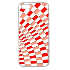 Graphics Pattern Design Abstract Apple Seamless Iphone 5 Case (clear)