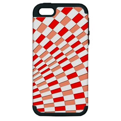 Graphics Pattern Design Abstract Apple Iphone 5 Hardshell Case (pc+silicone)