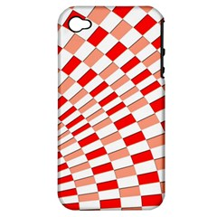Graphics Pattern Design Abstract Apple Iphone 4/4s Hardshell Case (pc+silicone)
