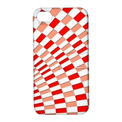 Graphics Pattern Design Abstract Apple Iphone 4/4s Hardshell Case With Stand