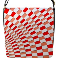 Graphics Pattern Design Abstract Flap Messenger Bag (s)