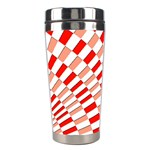 Graphics Pattern Design Abstract Stainless Steel Travel Tumblers Left