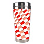 Graphics Pattern Design Abstract Stainless Steel Travel Tumblers Right