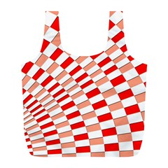 Graphics Pattern Design Abstract Full Print Recycle Bags (l)