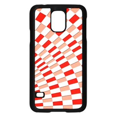 Graphics Pattern Design Abstract Samsung Galaxy S5 Case (black)
