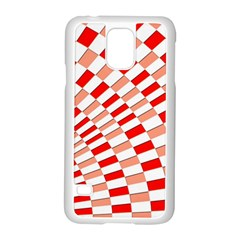 Graphics Pattern Design Abstract Samsung Galaxy S5 Case (white)