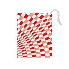Graphics Pattern Design Abstract Drawstring Pouches (medium)