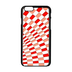 Graphics Pattern Design Abstract Apple Iphone 6/6s Black Enamel Case