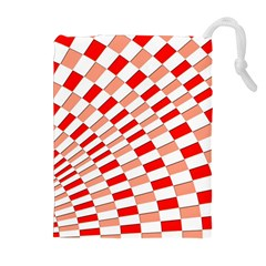 Graphics Pattern Design Abstract Drawstring Pouches (extra Large)