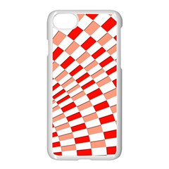 Graphics Pattern Design Abstract Apple Iphone 7 Seamless Case (white)