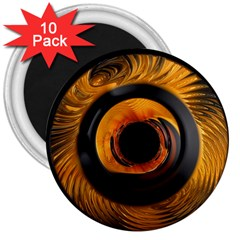 Fractal Mathematics Abstract 3  Magnets (10 pack)