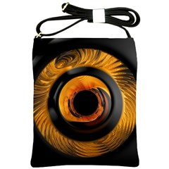 Fractal Mathematics Abstract Shoulder Sling Bags