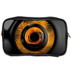 Fractal Mathematics Abstract Toiletries Bags 2 Side