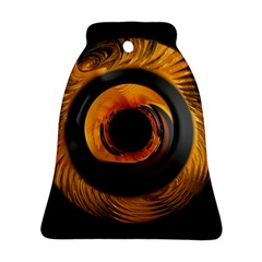 Fractal Mathematics Abstract Bell Ornament (two Sides)
