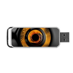 Fractal Mathematics Abstract Portable Usb Flash (one Side)