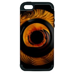 Fractal Mathematics Abstract Apple Iphone 5 Hardshell Case (pc+silicone)
