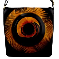 Fractal Mathematics Abstract Flap Messenger Bag (s)