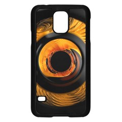 Fractal Mathematics Abstract Samsung Galaxy S5 Case (black)