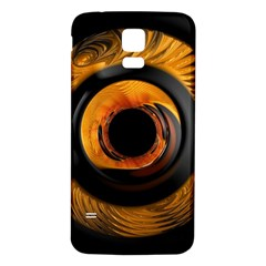Fractal Mathematics Abstract Samsung Galaxy S5 Back Case (white)