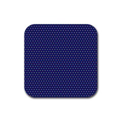 Fractal Art Honeycomb Mathematics Rubber Square Coaster (4 Pack)