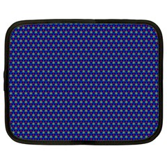 Fractal Art Honeycomb Mathematics Netbook Case (xl)
