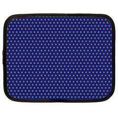 Fractal Art Honeycomb Mathematics Netbook Case (xxl)
