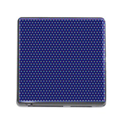 Fractal Art Honeycomb Mathematics Memory Card Reader (square)