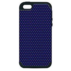 Fractal Art Honeycomb Mathematics Apple Iphone 5 Hardshell Case (pc+silicone)