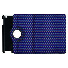 Fractal Art Honeycomb Mathematics Apple Ipad 3/4 Flip 360 Case