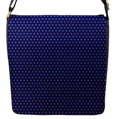 Fractal Art Honeycomb Mathematics Flap Messenger Bag (s)