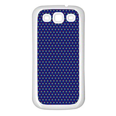 Fractal Art Honeycomb Mathematics Samsung Galaxy S3 Back Case (white)