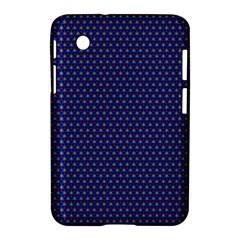 Fractal Art Honeycomb Mathematics Samsung Galaxy Tab 2 (7 ) P3100 Hardshell Case