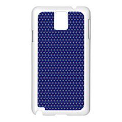 Fractal Art Honeycomb Mathematics Samsung Galaxy Note 3 N9005 Case (white)