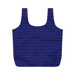 Fractal Art Honeycomb Mathematics Full Print Recycle Bags (m)