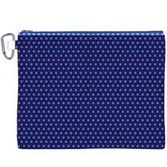 Fractal Art Honeycomb Mathematics Canvas Cosmetic Bag (xxxl)