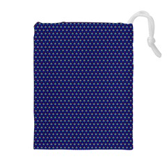 Fractal Art Honeycomb Mathematics Drawstring Pouches (extra Large)
